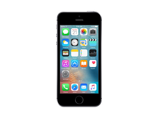 Смартфони Apple iPhone SE 64GB, сив цвят