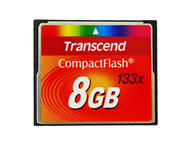Карти памет 8GB CompactFlash Transcend 133x