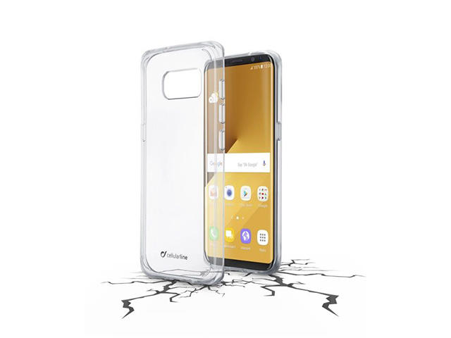 Калъфи Cellular line Clear Duo за Samsung Galaxy S8 Plus