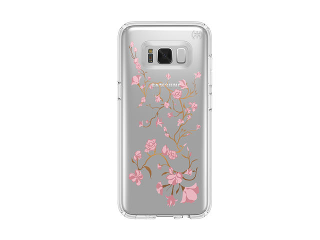 Калъфи Speck Samsung Galaxy S8 Presidio Clear With Graphics Goldenblossom Pink/Clear