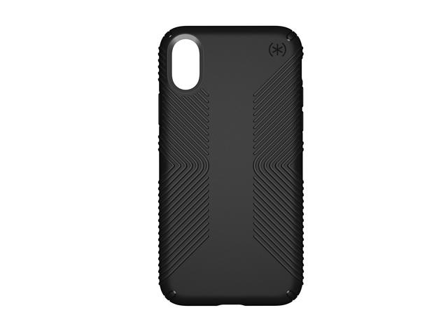 Калъфи Speck iPhone X Presidio Grip - Black/Black