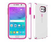 Калъфи Speck CandyShell за Galaxy S6, White/Raspberry Pink