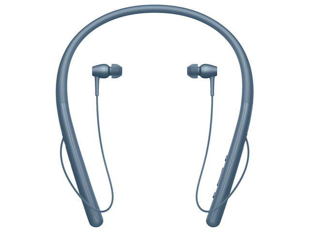 Слушалки Sony h.ear in 2 Wireless, в синьо
