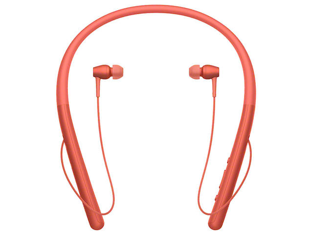 Слушалки Sony h.ear in 2 Wireless, в червено