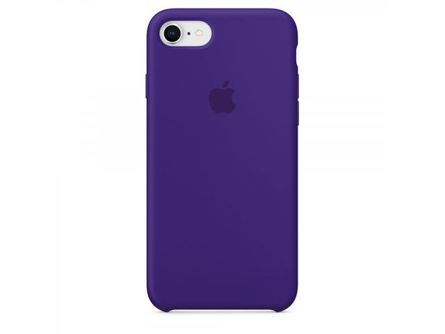 Калъфи Apple iPhone 8 / 7 Silicone Case, в лилаво