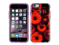 Калъфи Speck iPhone 6S Plus Candyshell Inked Moody Bloom Pattern/ Acai Purple