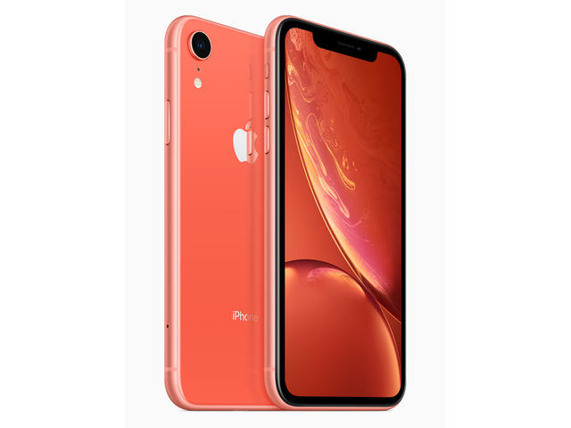 Смартфони Apple iPhone Xr, 128GB, цвят корал