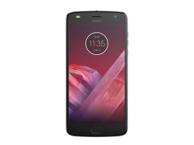 Смартфони Motorola Moto Z2 Play Single SIM 64GB, сив цвят