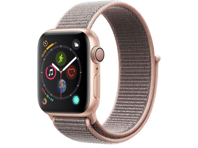 Смарт часовници Apple Watch Series 4 40mm Pink Sand Sport Loop