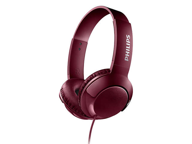 Слушалки Philips BASS+ SHL3070RD