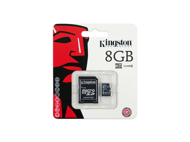 Карти памет 8GB microSD карта Kingston Class 4