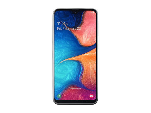 Смартфони Samsung Galaxy A20e (2019) 32GB Dual SIM, Black