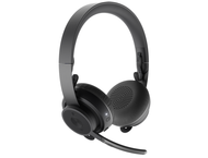 Слушалки Logitech Zone Wireless, Graphite