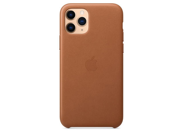 Калъфи Apple iPhone 11 Pro Leather Case, Saddle Brown