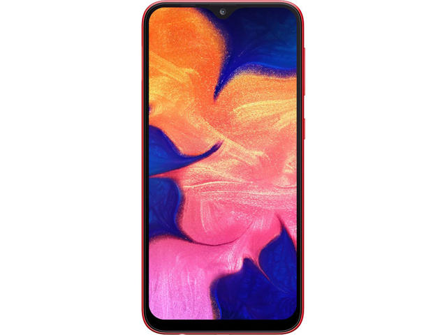 Смартфони Samsung Galaxy A10 (2019) Dual SIM, Red