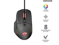 Мишки TRUST GXT 940 Xidon RGB Gaming Mouse