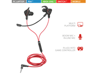 Слушалки TRUST GXT 408 Cobra Multiplatform Gaming Earphones