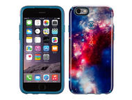 Калъфи Speck CandyShell Inked за iPhone 6, SuperNova Red Pattern/Tahoe Blue