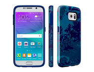Калъфи Speck CandyShell Inked за Galaxy S6, Color Field Blue/Cadet Blue